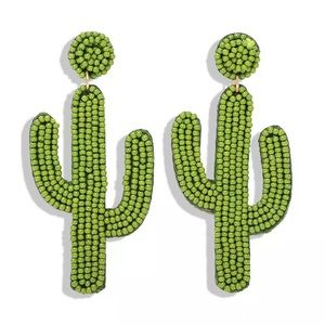 Cactus 🌵 dangle statement earrings